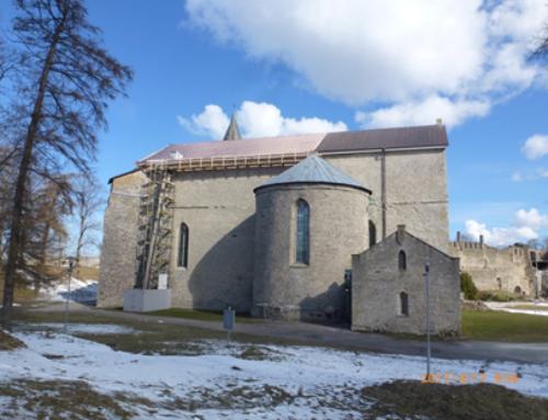 Haapsalu Toomkiriku katuse restaureerimine
