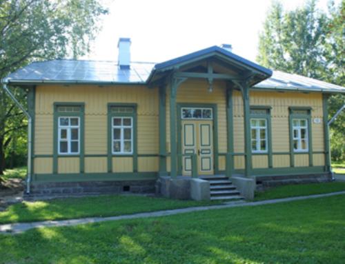 Haapsalu raudteejaama ambulants / restaureerimine