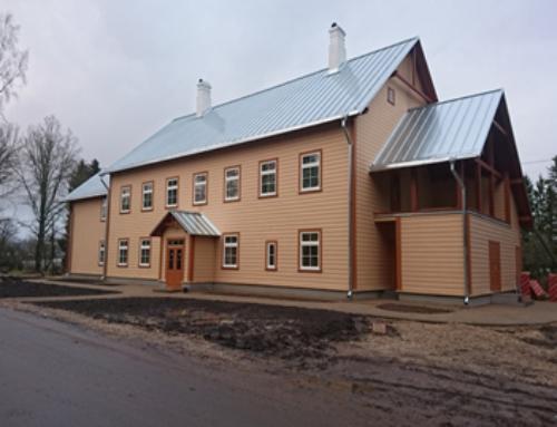 Oru vana koolihoone Läänemaal / rekonstrueerimine