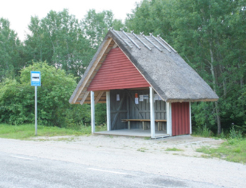 Sutlepa bussipeatus Läänemaal